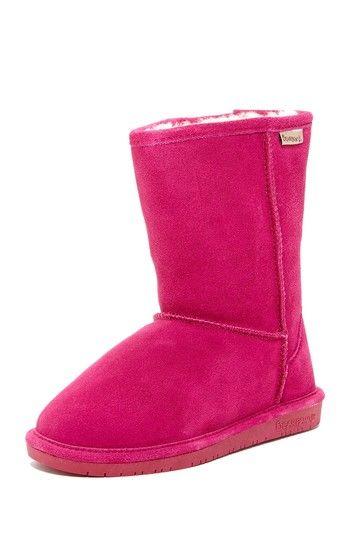 Emma Short Genuine Sheepskin Lined Boot