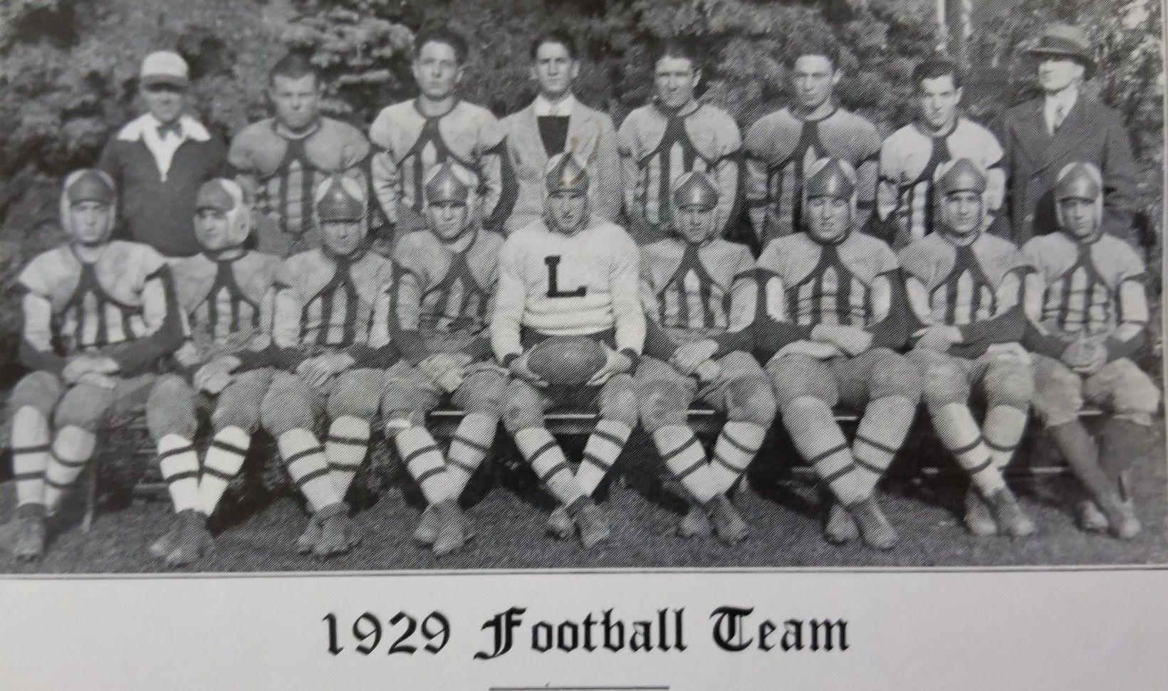 1929 lakewood piners football team photo source 1930