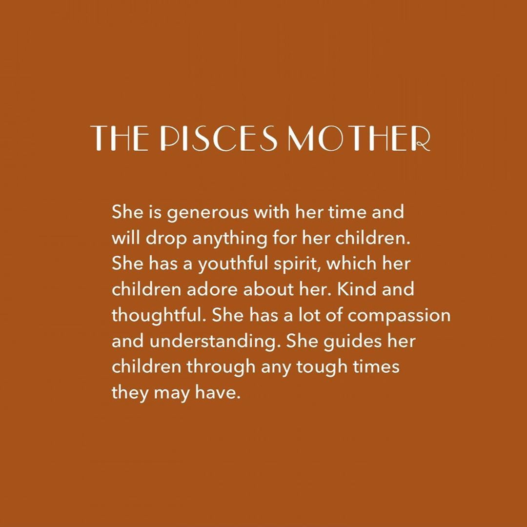 Sisters Village Astrology On Instagram The Pisces Mother