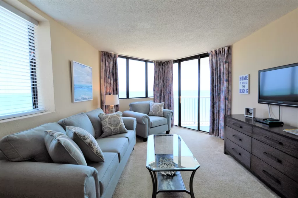 Gorgeous Oceanfront Views Two Bedroom Two Bath Huge Balcony Myrtle Beach Two Bedroom Oceanfront Swimming Pool Hot Tub
