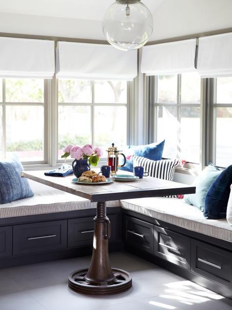 Contemporary Home Makeover Pinterest - kleine eckbank für küche
