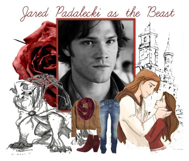 """Jared Padalecki as the Beast"" by alyssa-eatinger ❤ liked on Polyvore featuring Worth, H&M, ADAM, Diesel and Dolce Vita"