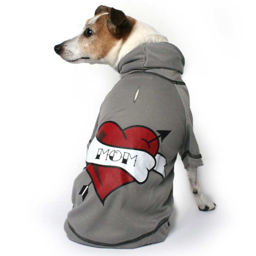 Heart Mom Dog Hoody Designer dog collars, Dog design, Dogs