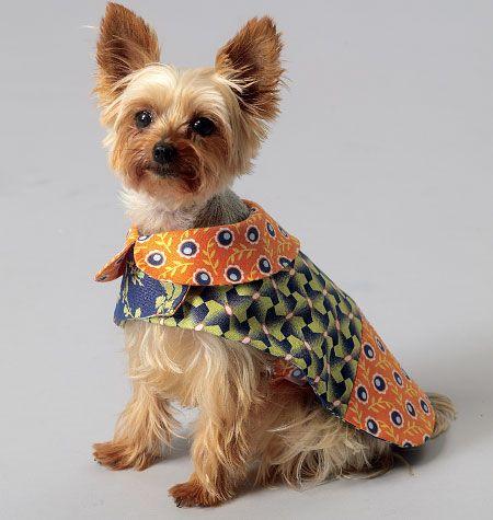 Pet Coats | Sewing: patterns to aquire! | Pinterest