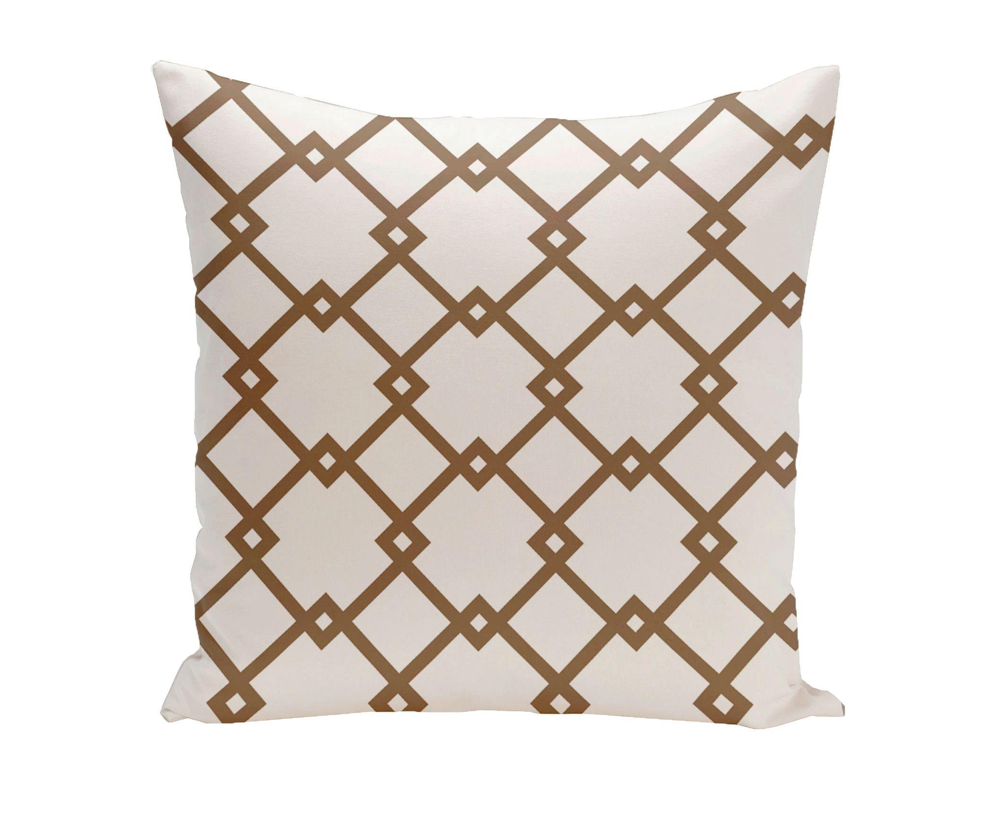 Byfield Geometric Euro Pillow