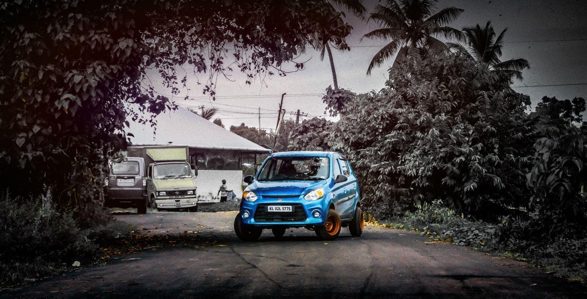 Maruti Suzuki Alto Modified Wide Rim With Images Suzuki Alto