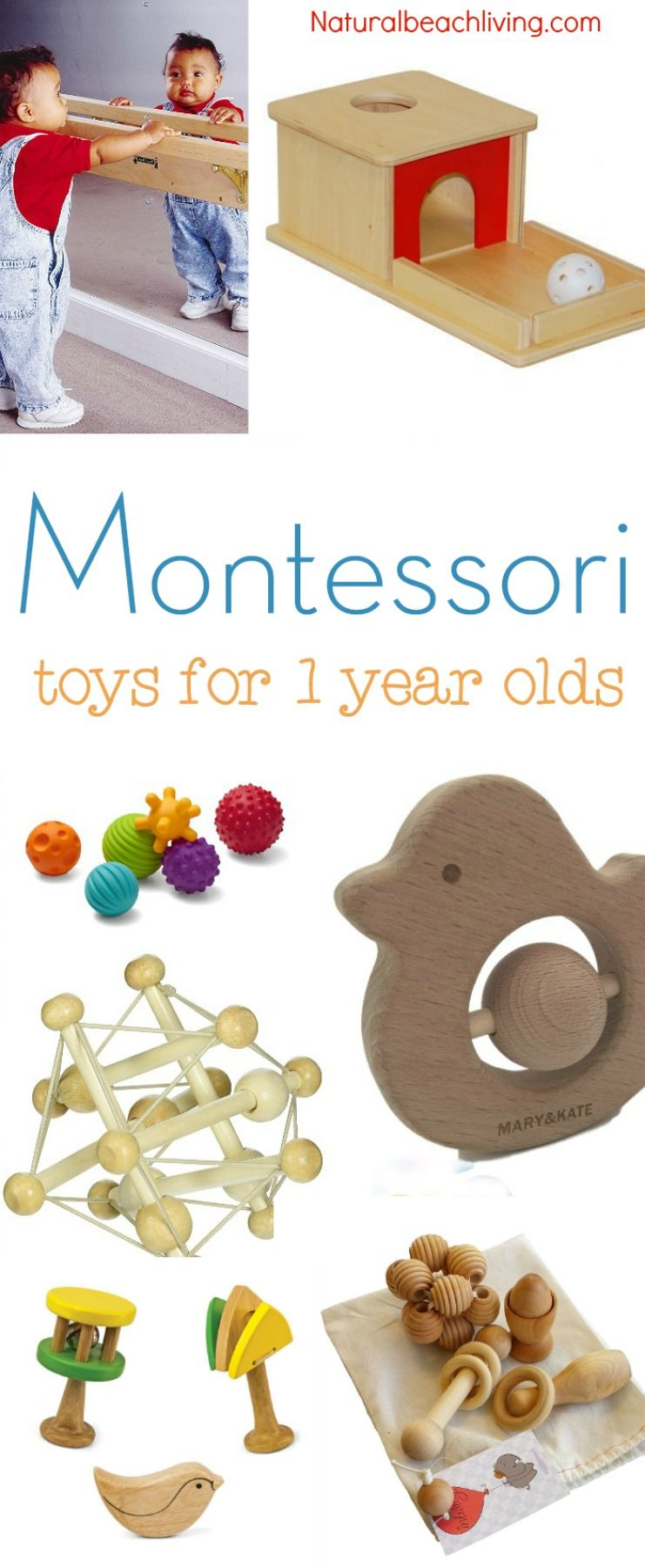 The Best Montessori Toys for 1 year olds | Montessori baby toys ...
