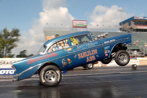 56 Chevy Gasser Race Cars Bing Images Drag Racing Drag Racing