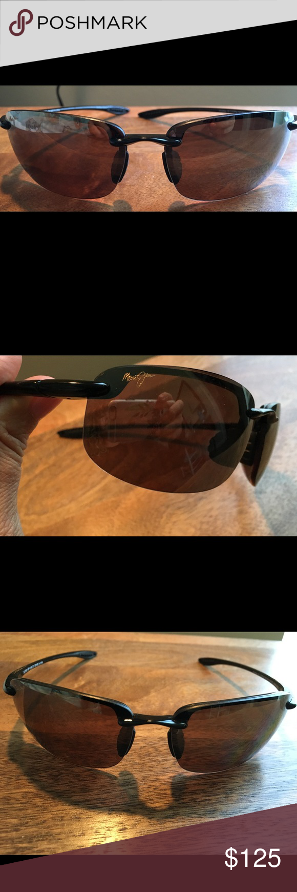 Maui Jim Hookipa Men\'s Sunglasses with Case