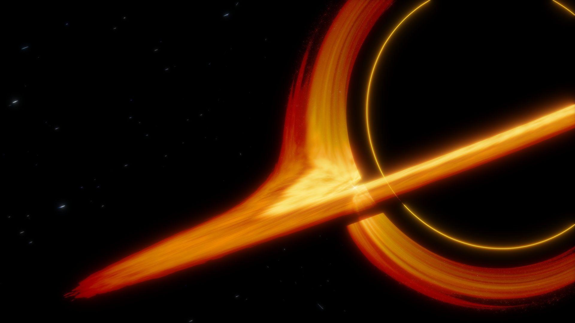 Artwork Orange Rings Black Hole Wallpaper Black Hole Wallpaper Black Hole Wallpaper