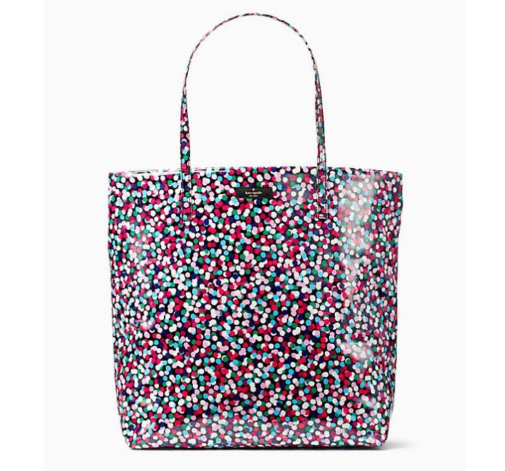 3977356a0713 Kate Spade Daycation Bon Shopper Dance Party Dot New With Tag & Original  Package #katespadenewyork #Tote