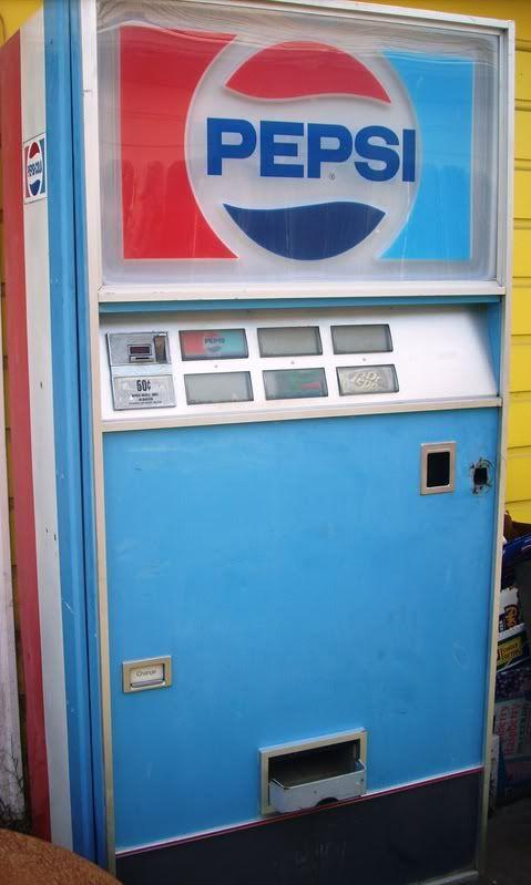 1970 S Pepsi Machine Pepsi Pepsi Cola Vending Machine