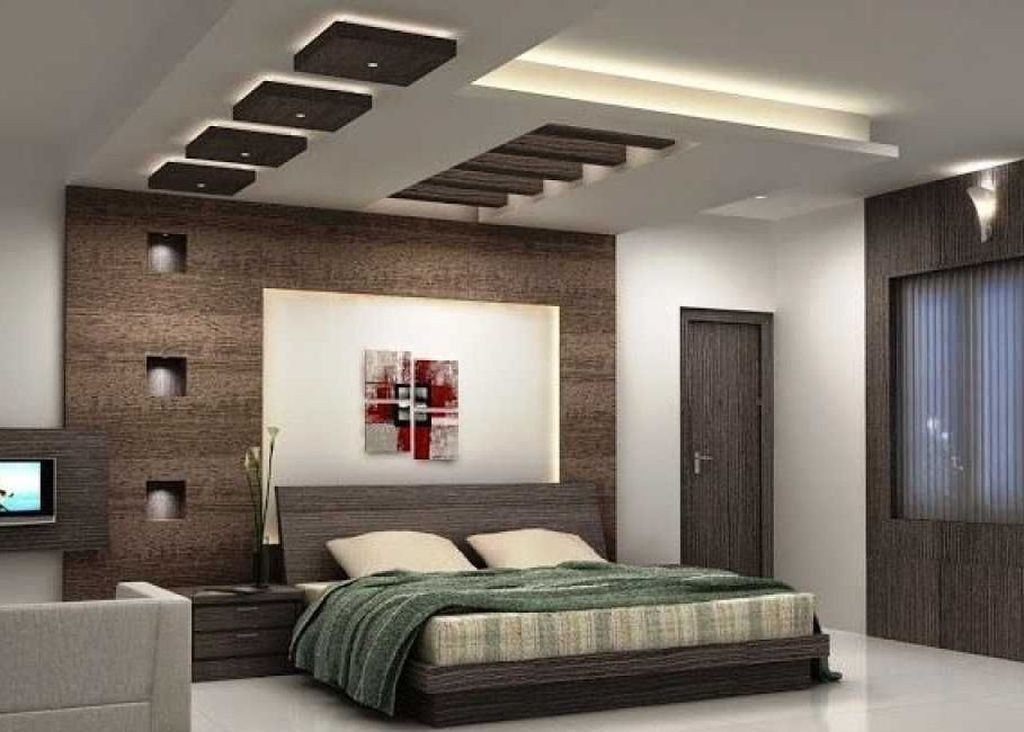 42 Fabulous Modern Bedroom Ceiling Designs 2018 Decoomo Com