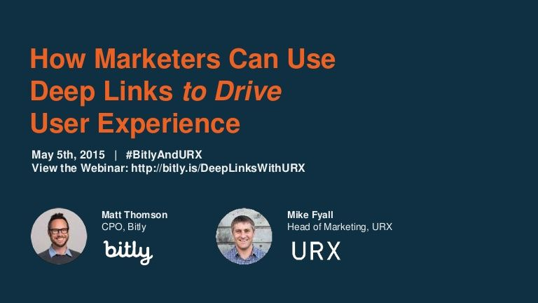 How Marketers Can Use Deep Links to Drive User Experience