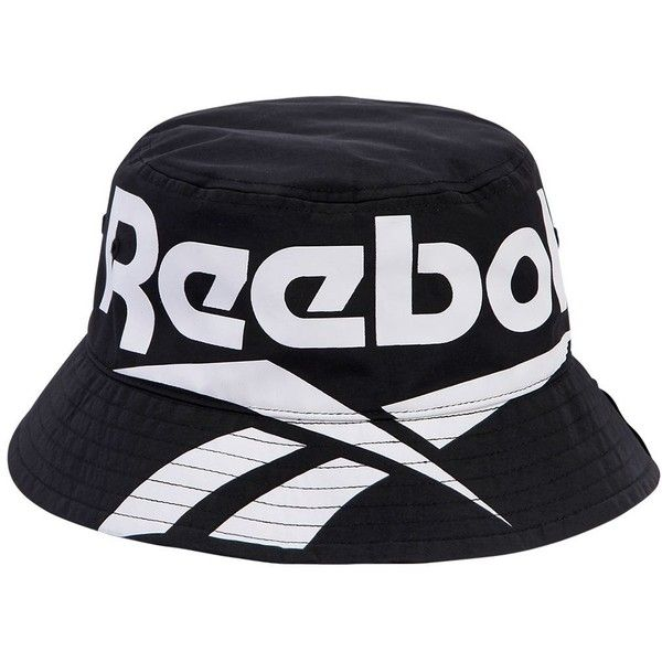 Reebok Classics Women Classics Logo Bucket Hat (165 RON) ❤ liked on  Polyvore featuring accessories 0fd78e1ac0
