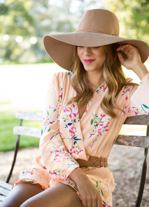7798a0fa Big floppy hats are always a simple, fashion-forward accessory! Perfect for  when you're having a bad hair day. Just pop one of these on your head and  viola! ...