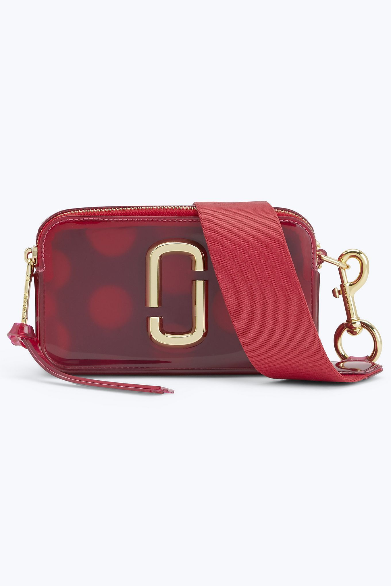 Jelly Snapshot Small Camera Bag | Marc Jacobs | Raspberry