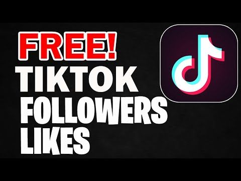 How To Get Free Tiktok Followers And Likes Free Tiktok Likes Tik Tok Followers 2020 Youtube Free Followers How To Get Famous How To Get Followers