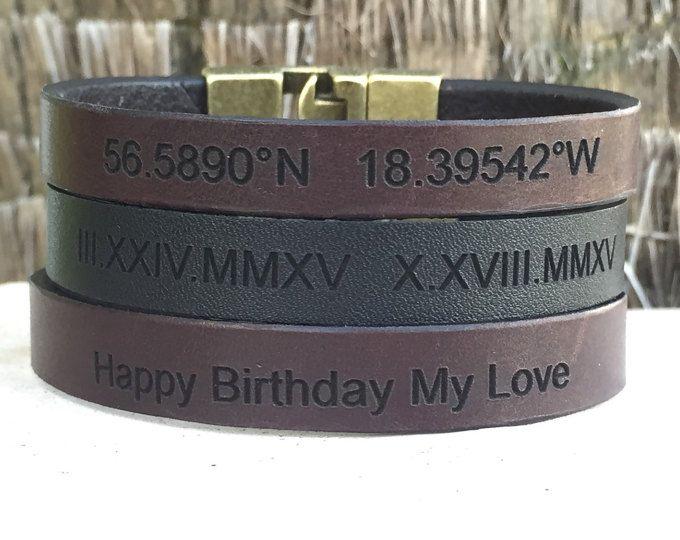 Herren Armband personalisierte Geschenke für Männer