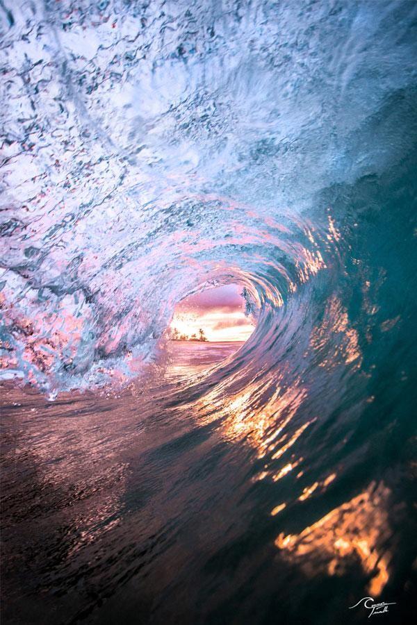 Hawaiian Sunrise - Small Matted Print