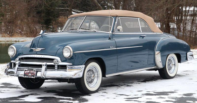 1950 Chevrolet Deluxe Styleline Convertible