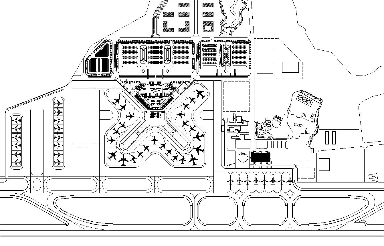 Airport Cad Drawings 1 Cad Design