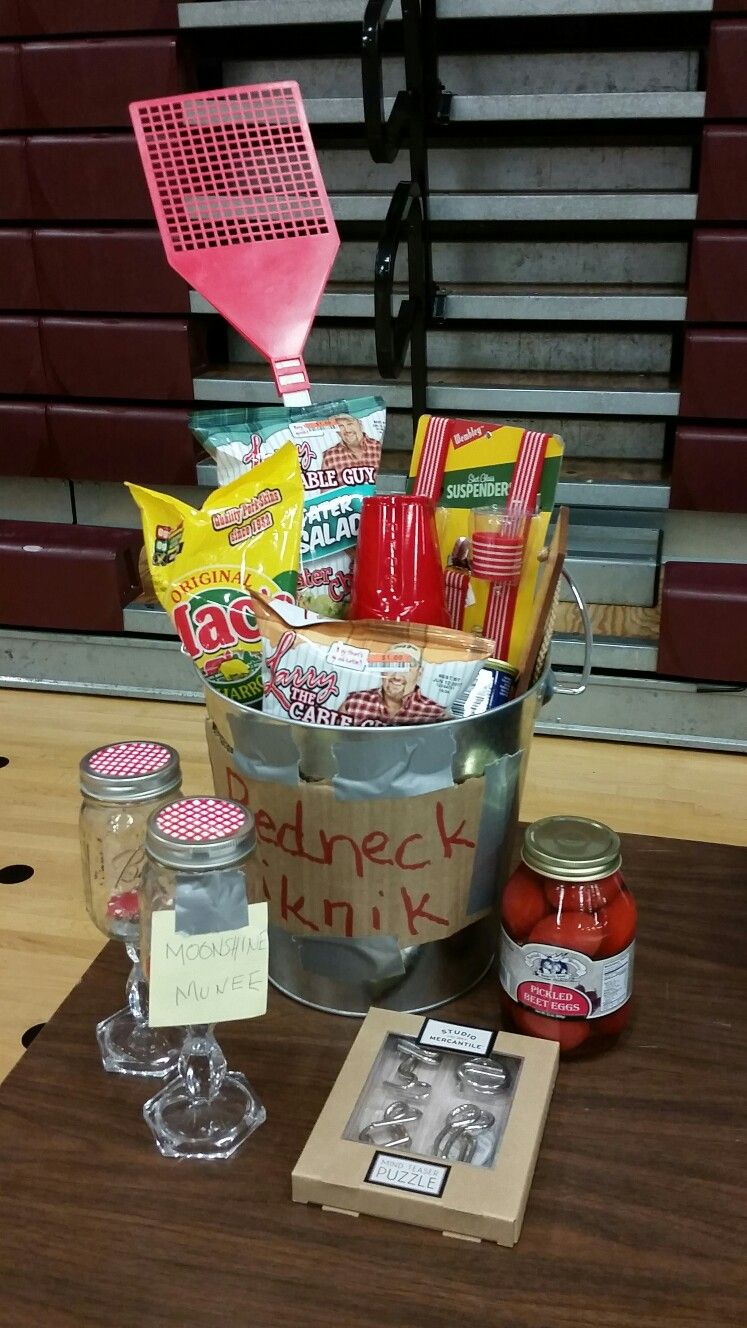Redneck Basket. Redneck Basket Housewarming Gift Baskets ...