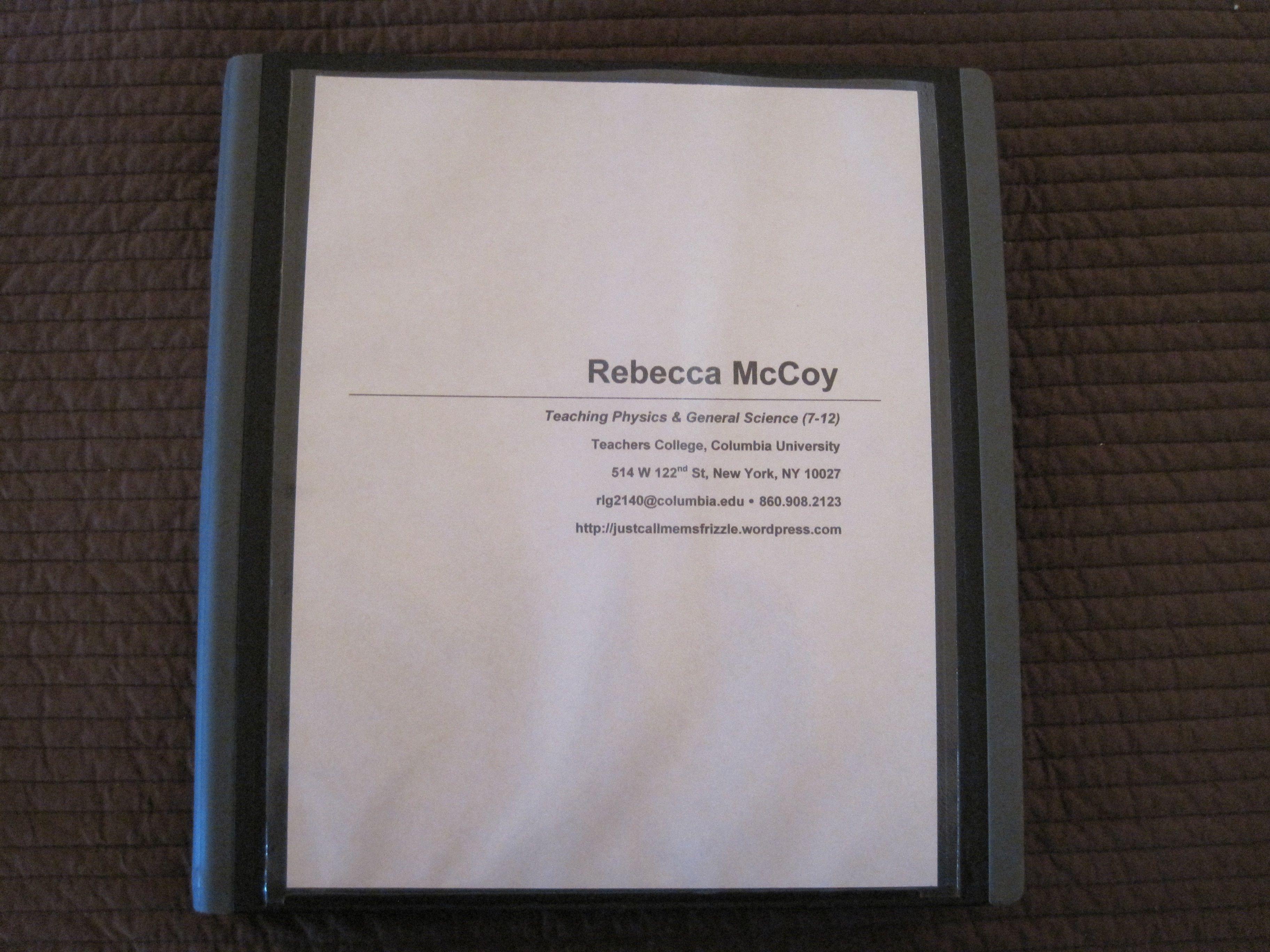 My Teaching Portfolio | Teaching portfolio and Teaching philosophy
