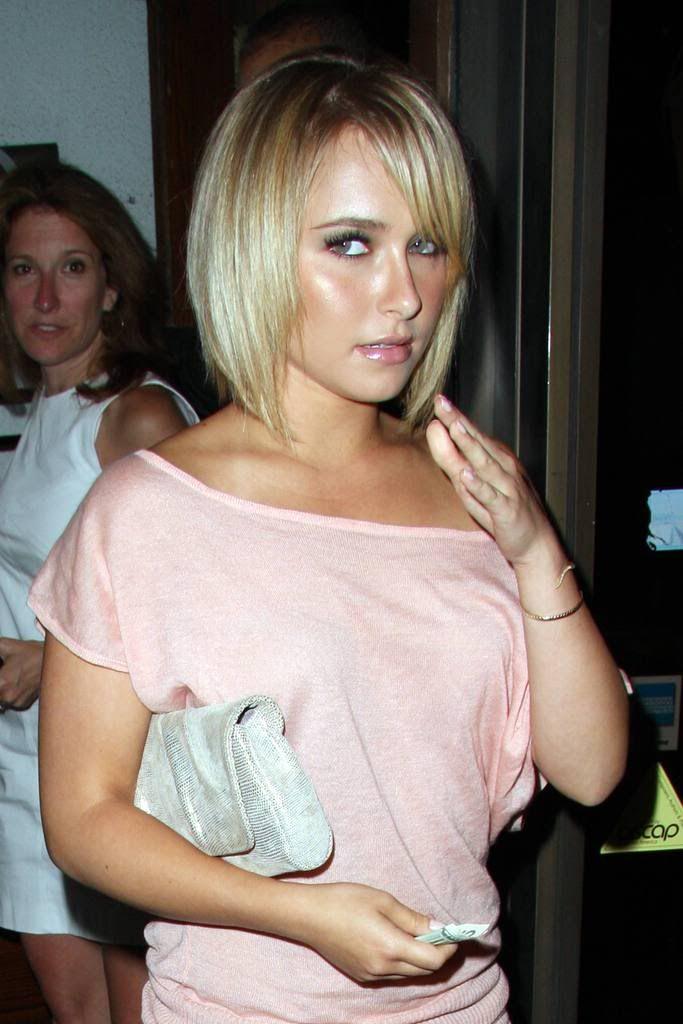 Short Hair Blonde Milf