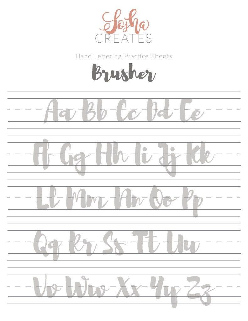 Free Hand Lettering Practice Sheets Hand Lettering Practice Hand Lettering Practice Sheets Lettering Practice [ 1024 x 791 Pixel ]