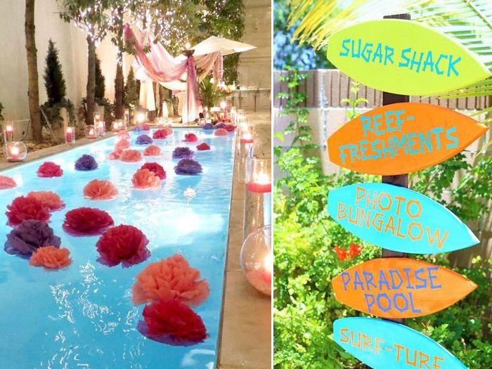 Festa na piscina pool party pinterest piscina festa for Piscina party