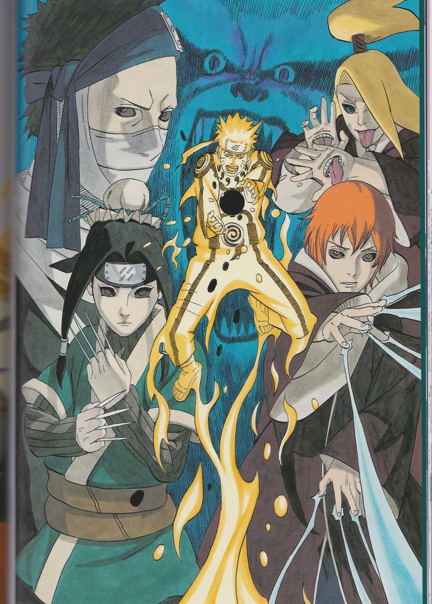 Naruto Artbook Naruto shippuden anime, Wallpaper naruto