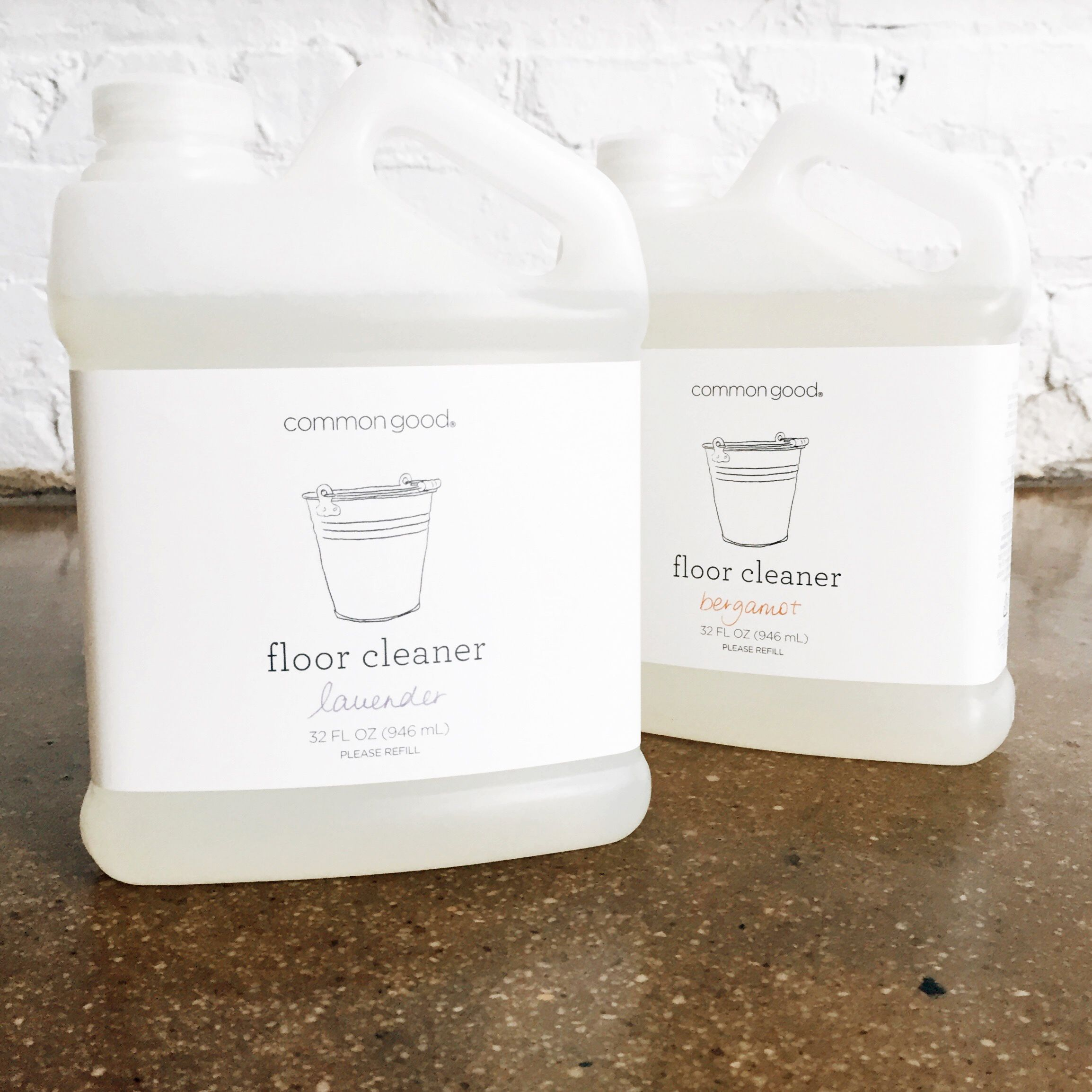Eco floor cleaner concentrated formula to use on any