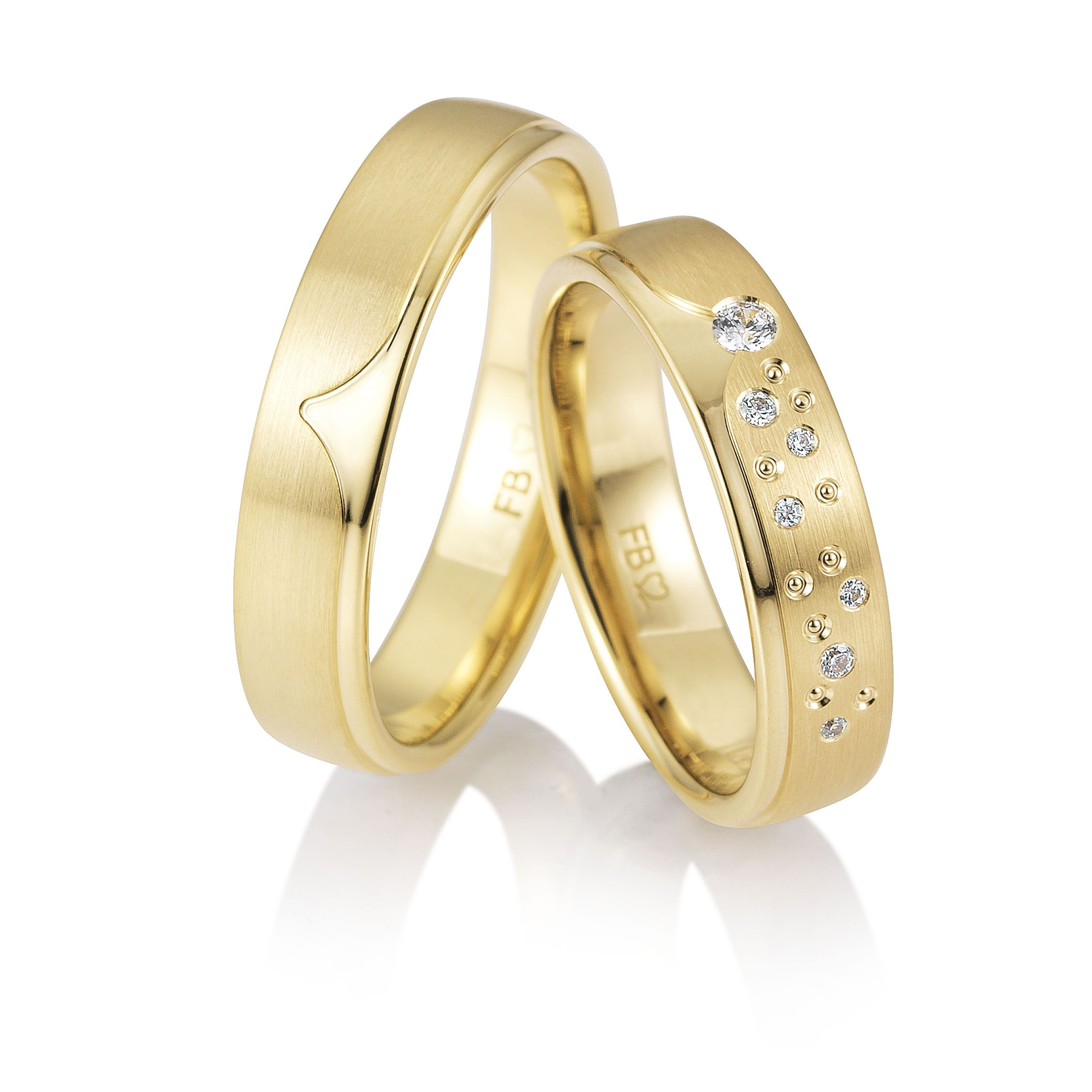 Eheringe Trauringe Breuning Gelbgold 48 05889 585 Gold