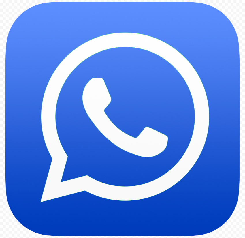 Hd Dark Blue Whatsapp Wa Whats App Official Logo Icon Png Citypng Logo Icons Icon Dark Blue
