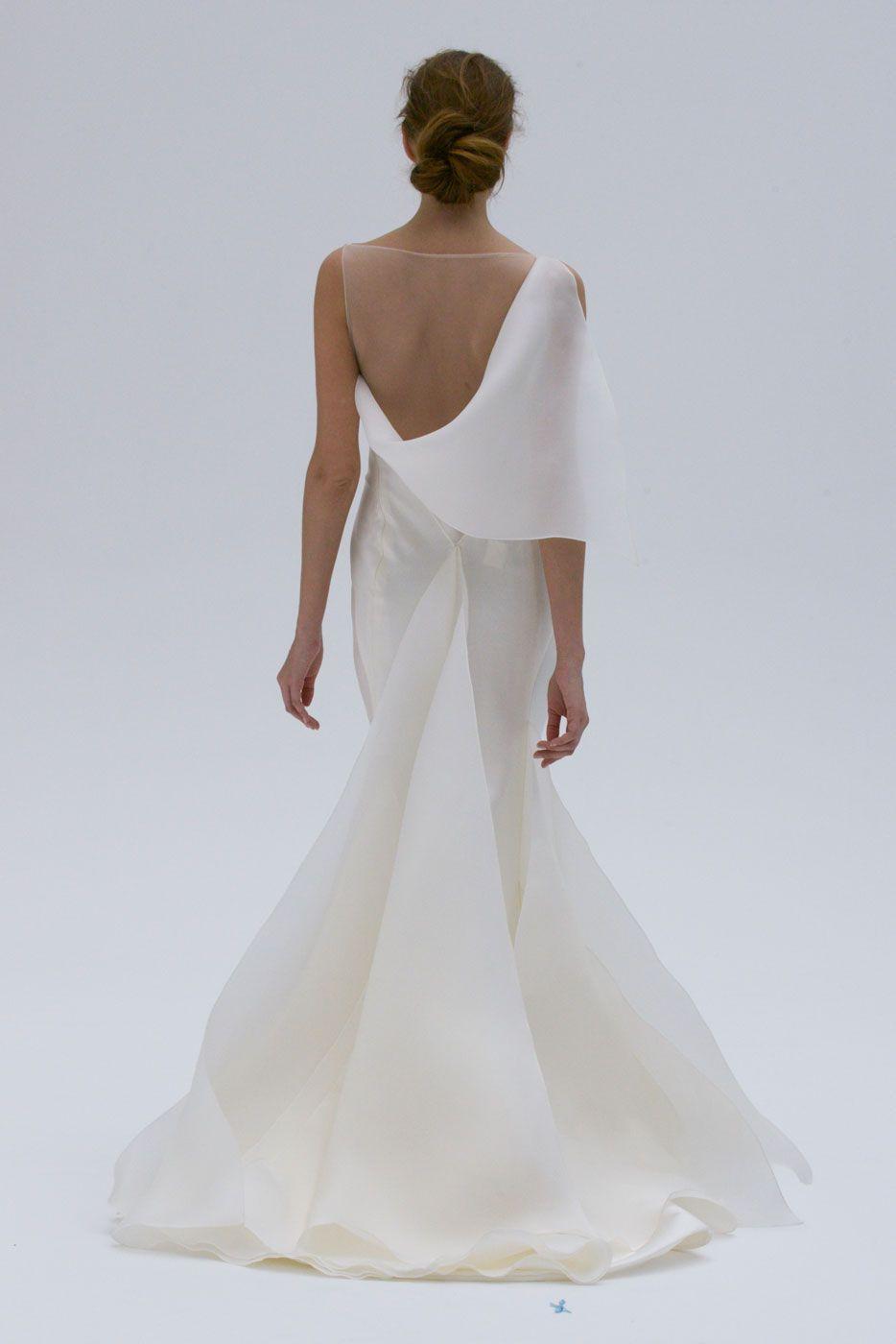 Vestidos de noiva minimalista#inspirações