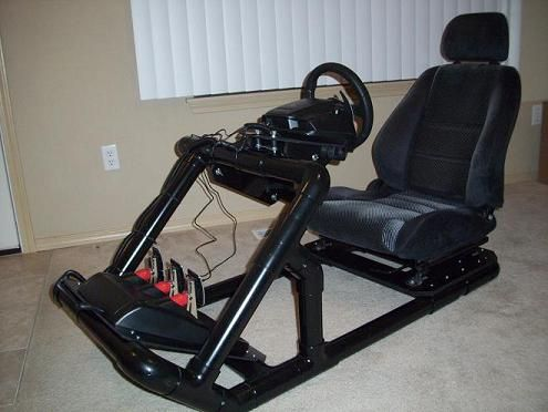 racing simulator chair plans meditation posture simul8r mark ii pvc pg 9 post 175 donations accepted diy only insidesimracing forums