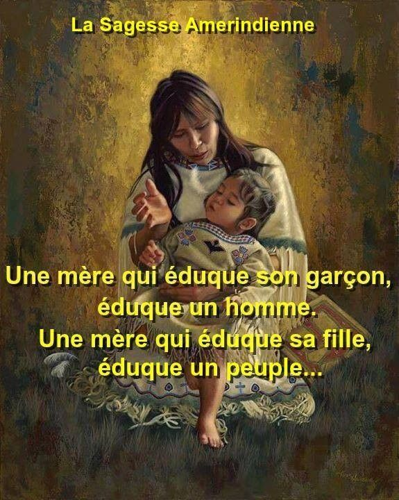 Fabuleux Pensée Amérindienne | Paroles | Pinterest | Citation, Mots  NG44