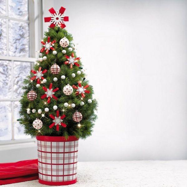 weihnachtsbaum festlich dekorieren baumkugel diy pinterest weihnachtlich dekorieren. Black Bedroom Furniture Sets. Home Design Ideas