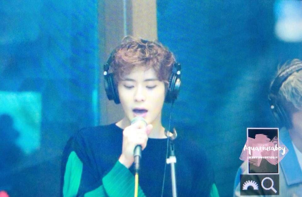 Jaehyun @ MBC Radio Jung Oh's Hope Song