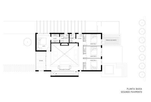 Casa Ventura M22,Planta - 2º Pavimento