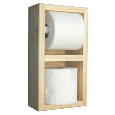 Wg Wood Ruby Surface Mount Toilet Paper Holder With Spare Roll Ruby 13 Diy Toilet Paper Holder Toilet Paper Toilet