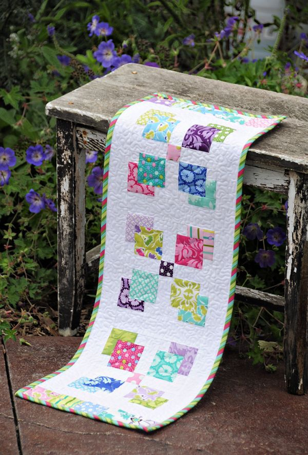 New Patterns Quilted Table Runners Table Runner Pattern Quilts