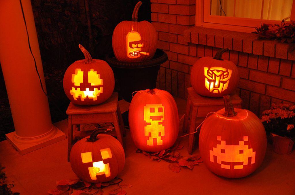 [+] Pumpkin Carving Designs Minecraft
