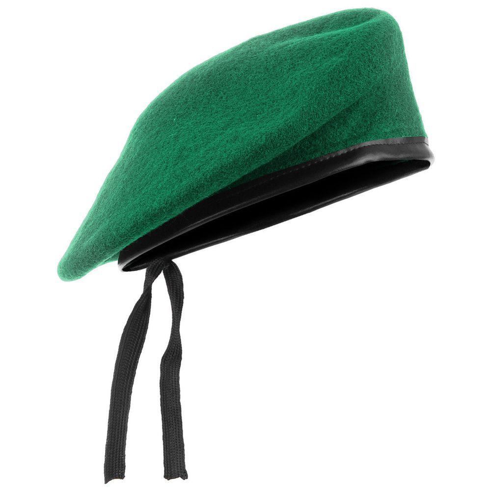 214070bd9030f Unisex Military Army Soldier Hat Men Women Wool Beret Uniform Cap Classic  Artist  UnbrandedGeneric  ArmyCap