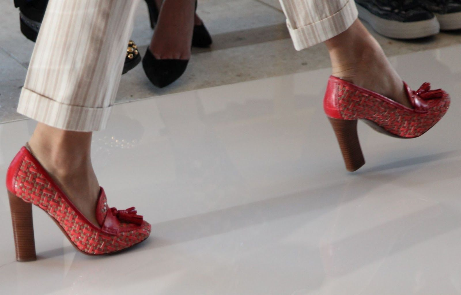 Tory Burch Spring 2013. Photo courtesy of @Habitually Chic
