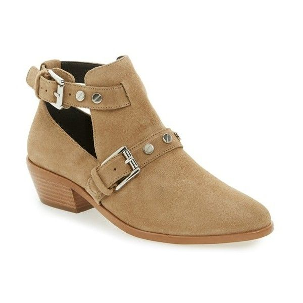 discount best cheap latest Rebecca Minkoff Suede Cutout Ankle Boots discount free shipping B4cr53v