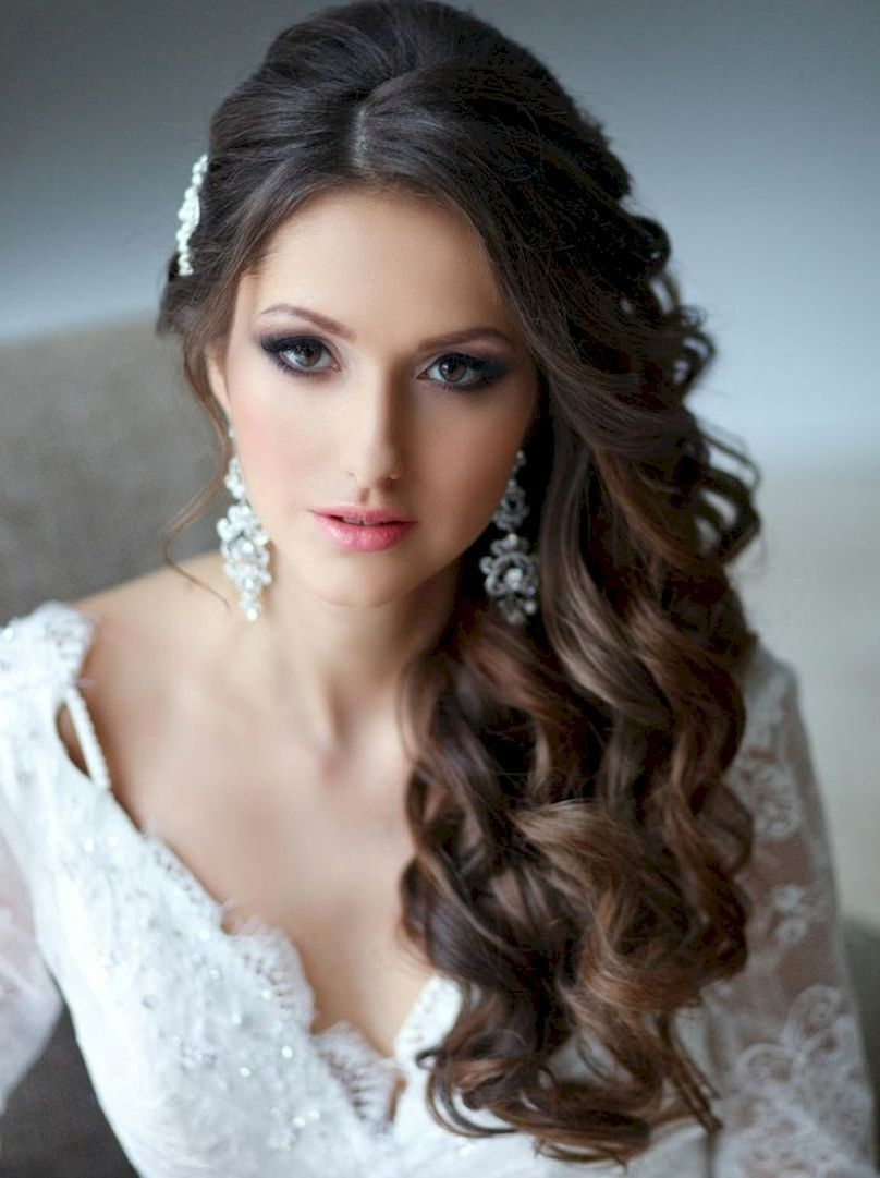 88+ stunning wedding hairstyles for long hair http://montenr/88