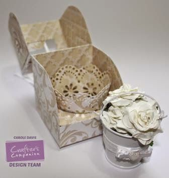 Cupcake Templates Single Presentation Box Cd Video Tutorial Wedding Style