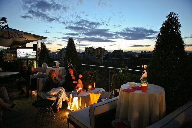 Hotel Milano Scala Brera Garden Aperitivo Via Dell Orso 7